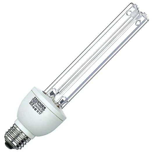 Amazon Com Uv Germicidal Lamp Uvc With Ozone Light Bulb E26 25w