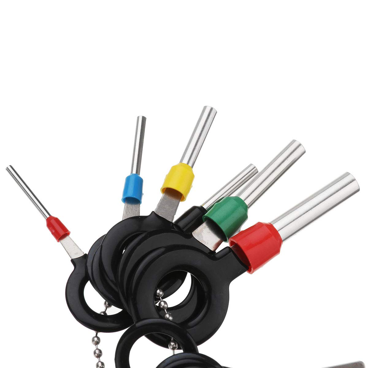 CocinaCo 26Pcs//Set Terminal Removal Tool Electrical Wiring Crimp Connector Pin Extractor Tools Kit
