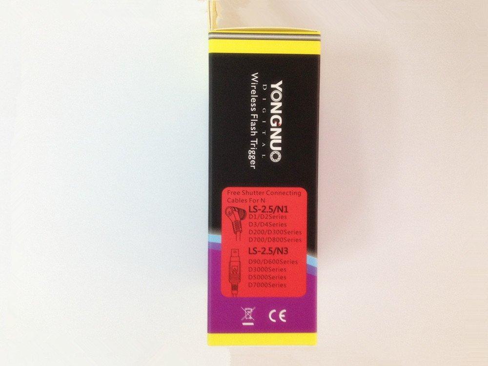 Shutter Release Cords Digital Camera Accessories D90/D600/D3000 ...
