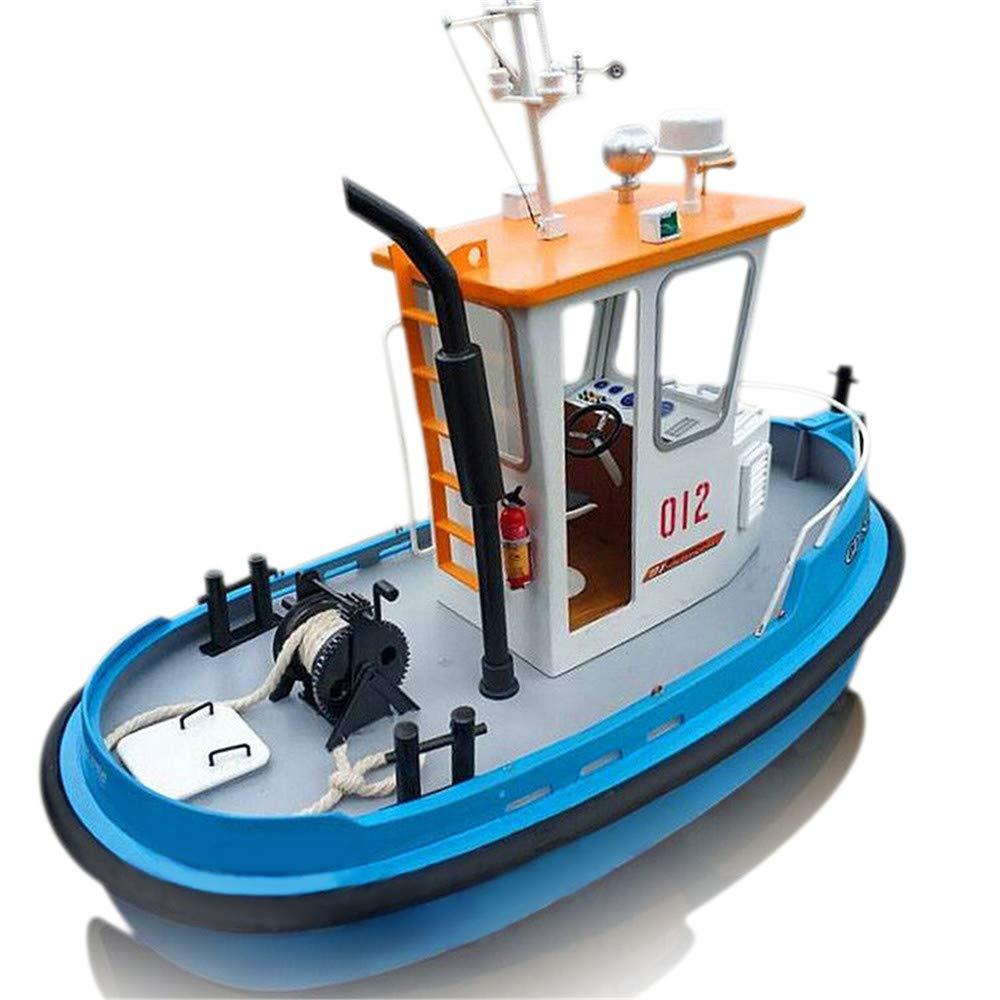KISENG モデル船 DIYツールキット 1:18パイン ミニ 270*130*190mm RCタグボート レスキューシミュレーション ABS木製ボート B07Q4RRXK6
