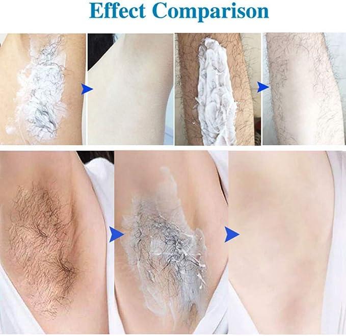 Cremas depilatorias Crema depilatoria suave y no irritante para ...