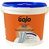 "Gojo Fast Wipes Hand Cleaning Towels 9"" X 10"" Bottle 225 Pre-Moistened Towels"