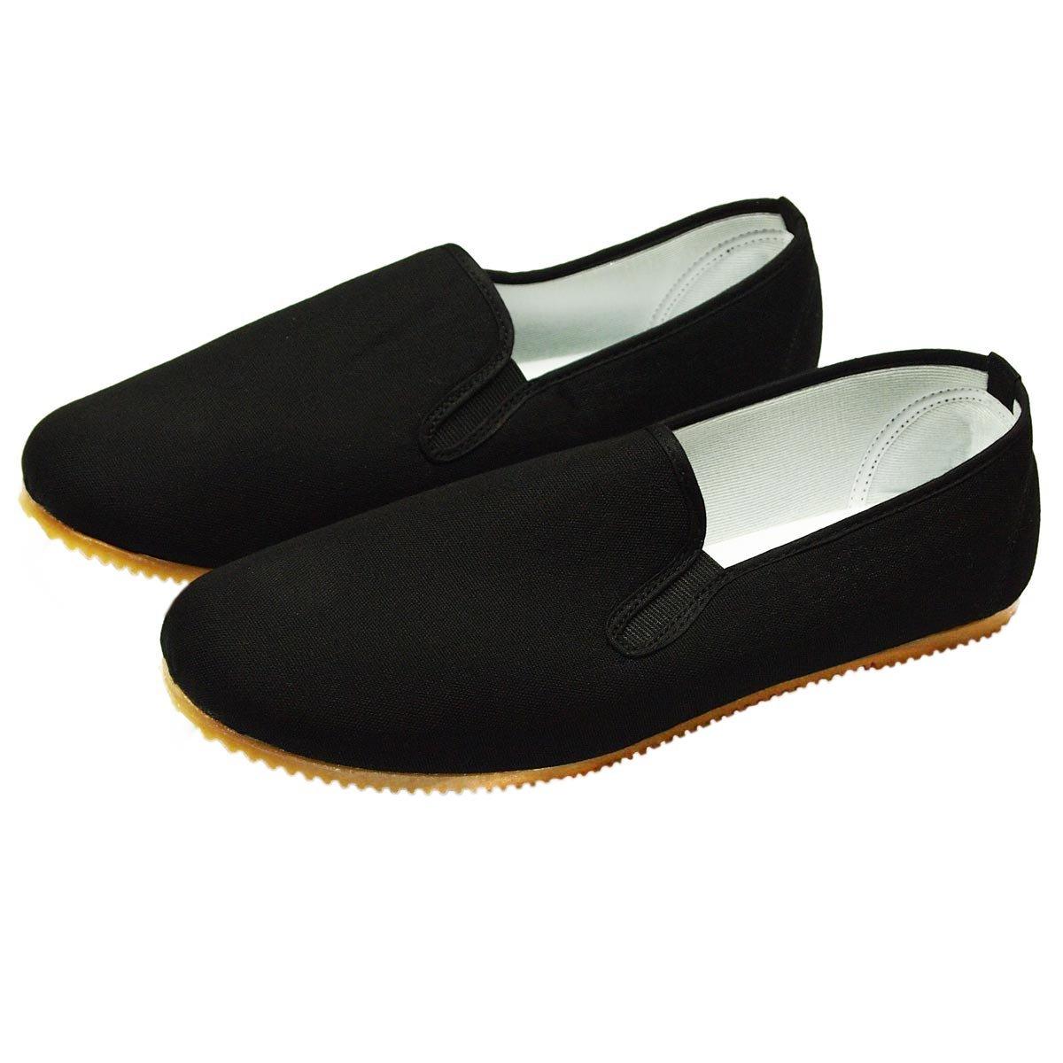 Kung Fu Zapatos con suela de goma clara DerShogun