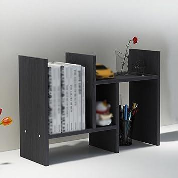 storage children utility creative rack bookcase small bookshelf retractable dp office shelf bookcases desktop racks com amazon simple