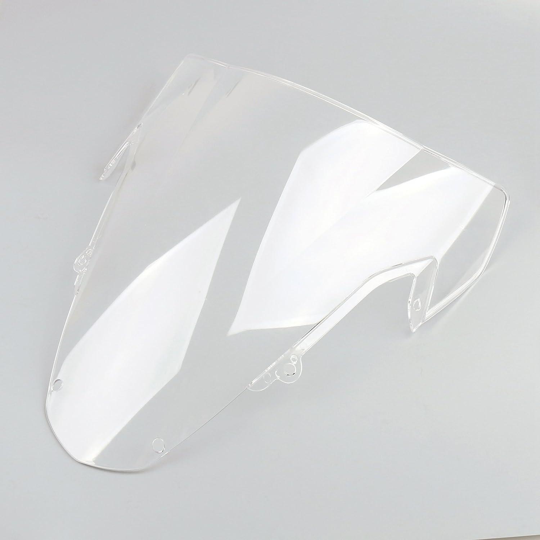 Areyourshop Windshield Windscreen Double Bubble For GSXR 1000 2003-2004 K3 Iridium