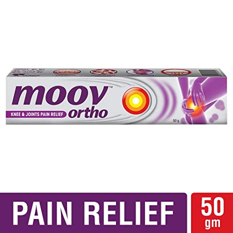 Moov Ortho, Knee & Joints Pain Relief Cream – 50g