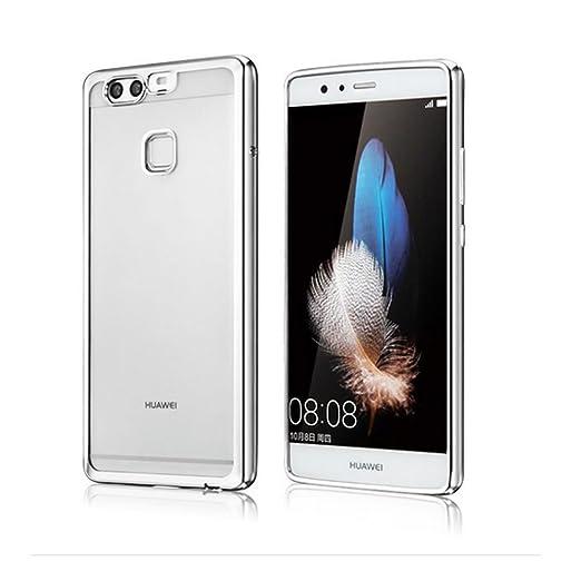 2 opinioni per Cover Huawei P9, Custodia Huawei P9, Coodio Chrome Placcatura Bumper Custodia