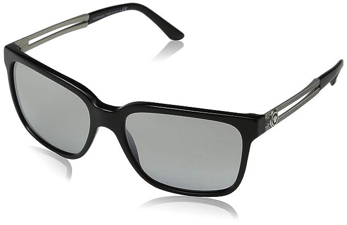 Versace GB1/6V Gafas de sol, Black, 58 para Hombre: Amazon ...