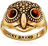 Lucky Brand Owl Ring, Size 7