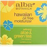 ALBA BOTANICA Hawaiian Refining Aloe and Green Tea Oil-Free Moisturizer, 85g