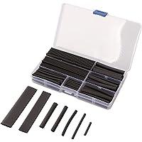 UEB 150pcs 2:1 Heat Shrink Tubing Wire Wrap Cable Sleeve Tubing Sets 8 Sizes 2-13mm Black