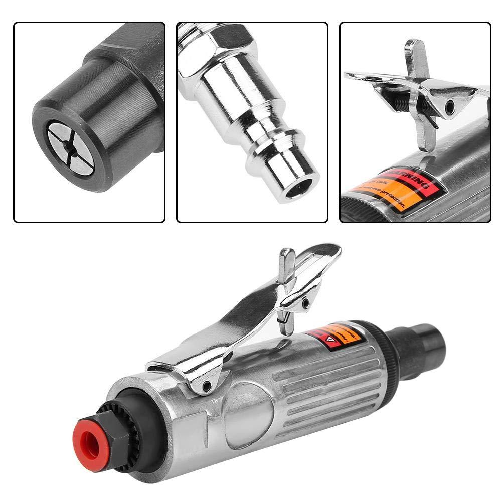 7032K petit Meuleuse pneumatique /à haute vitesse AT-7033K 23000 tr//min rectifieuse dangle pneumatique avec port dentr/ée dair et cl/é pour