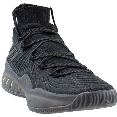 new concept bc25b 6e0de adidas Crazy Explosive 2017 Primeknit Shoe - Men s Basketball 17  Black Carbon White