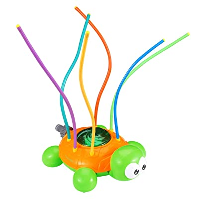 NUOBESTY Water Tortoise Spraying Sprinkler, Perfect Summer Outdoor Bath Spray Toy for Children/Boys/Girls/Kids and Pets: Garden & Outdoor