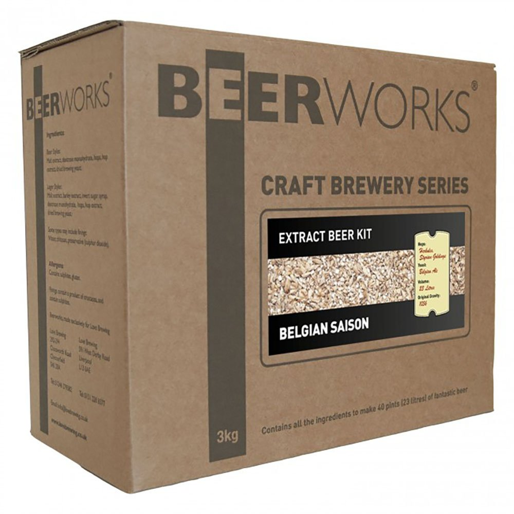 Beerworks Part Grain Belgian Saison - Home Brew Beer Kit