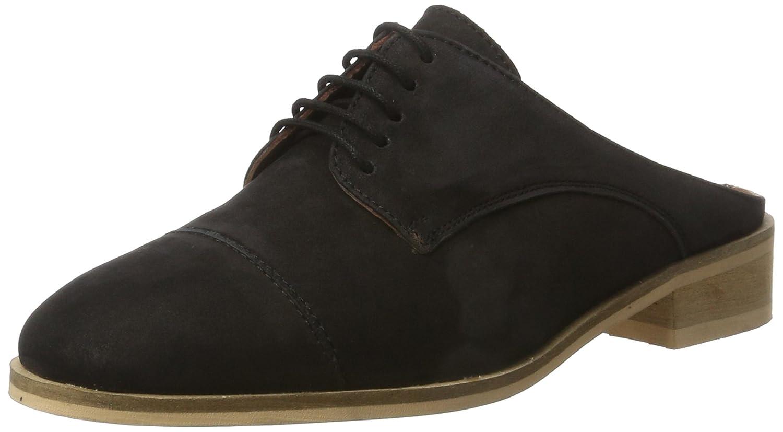 Bianco Bianco's Innovativer Sommerhalbschuh 25-49276, Zapatos de Cordones Derby para Mujer 39 EU|Negro (Black 10)