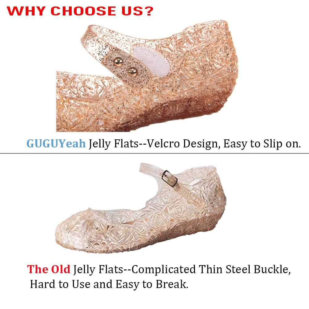 Frozen Inspired Elsa Costumes Flats Shoes Toddler or Kids Snow Queen Princess Birthday Sandals for Little Girls