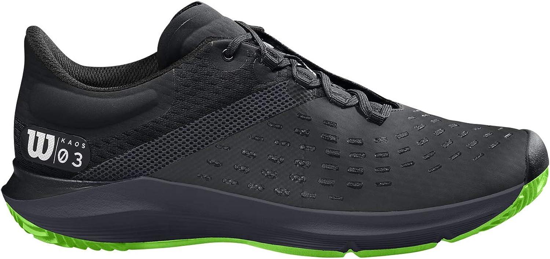 Wilson Kaos 3.0 Clay, Zapatilla de Tenis para Tierra Batida, tenistas de Cualquier Nivel para Hombre