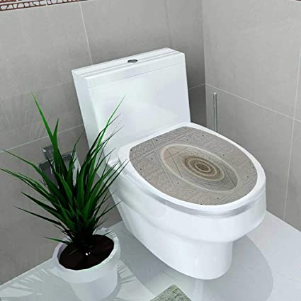 Fantastic Amazon Com Vanfan Toilet Seat Wall Stickers Paper Johor Caraccident5 Cool Chair Designs And Ideas Caraccident5Info