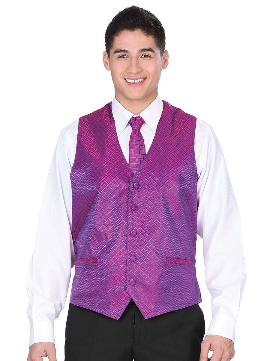100/% Polyester ID 34157 Fucshia CHA Vest Dress El General