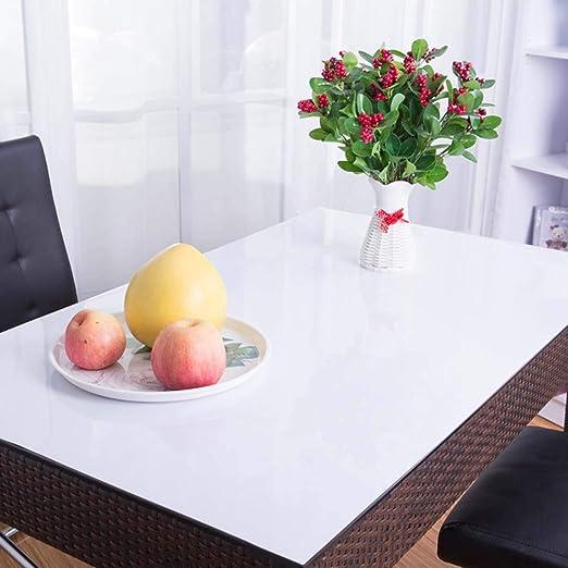 Mantel Transparente Mesa Rectangular, Plastico,PVC,Impermeable ...