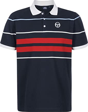 Sergio Tacchini Cloud Polo Navy/Ivory: Amazon.es: Ropa y accesorios