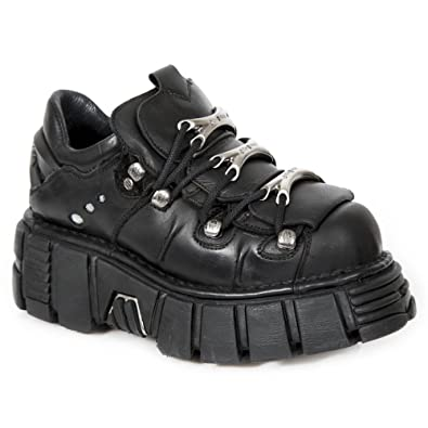 120-S1, Baskets Mixte Adulte, Noir (Negro 001), 41 EUNew Rock