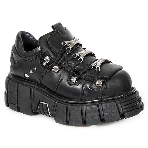 New Rock-m.120 S1, Adulte Unisexe Zapatillas, Noir (noir 001) 37 I