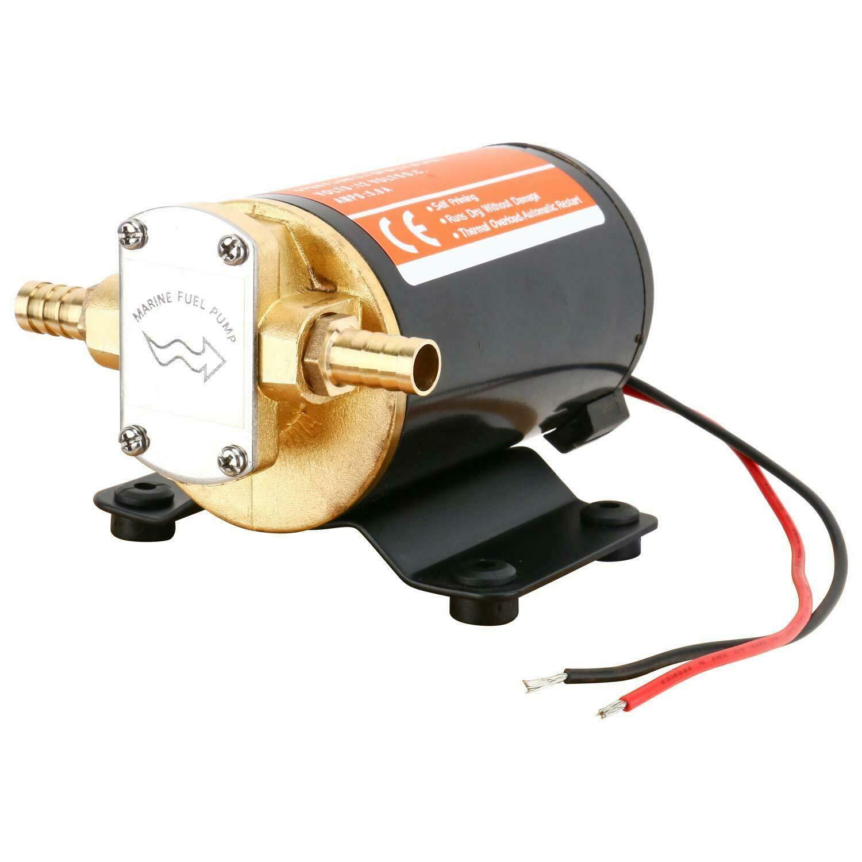 12V Turbo Ölpumpe Gear Oil Pump Diesel Kraftstoff Kraftstoffpumpe Zahnradpumpe