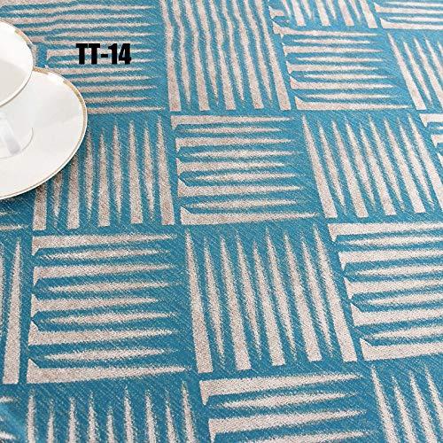 La Nappe à La Maison, La Nappe Café Est Confortable, Douce, Sale Et épaisse, Résistante à L'usure 210  210cm,TT-14-130  130CM
