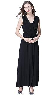 8a38f5441f561 Emotion Moms Party Long Maternity Nursing Dresses for Pregnant Women Summer Breastfeeding  Dress