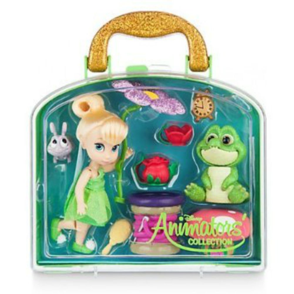 Disney Animators' Collection Tinker Bell Mini Doll Play Set - 5'' - New by Disney 460021823772