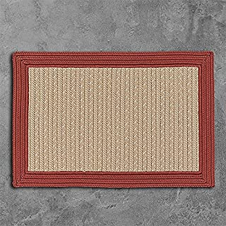 product image for Bayswater Rugs, 6' x 9', Brick