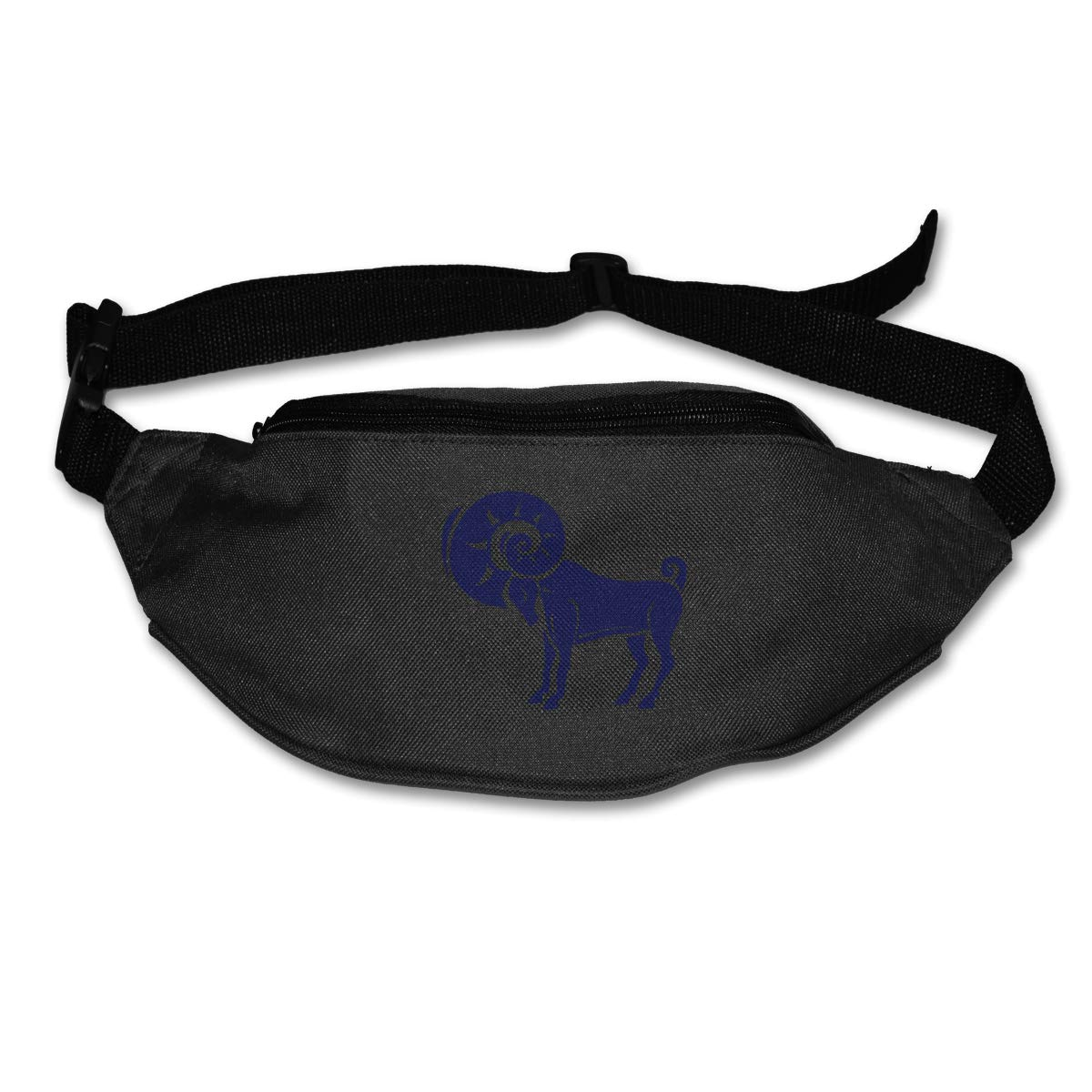 Navy Aries Sport Waist Packs Fanny Pack Adjustable For Travel