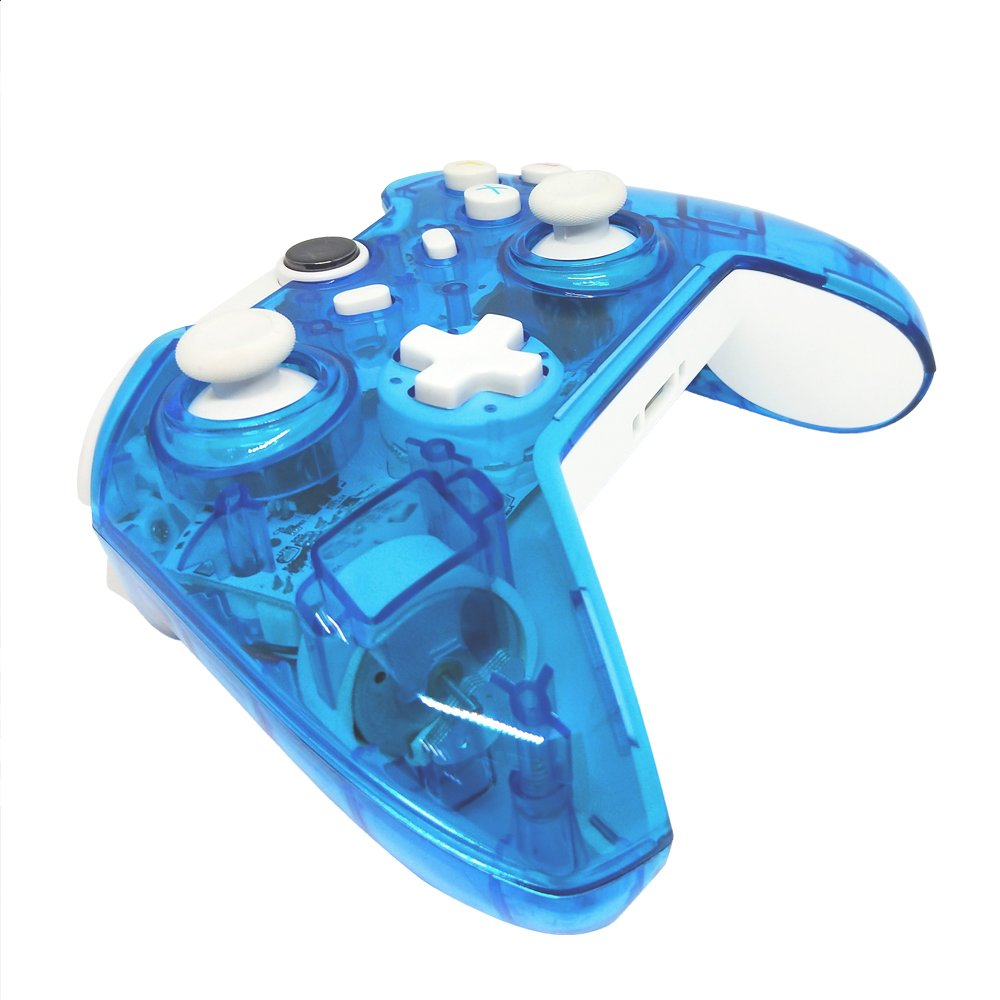 J&T Xbox One Wireless Controller Transparent Gamepad: Amazon.co.uk ...
