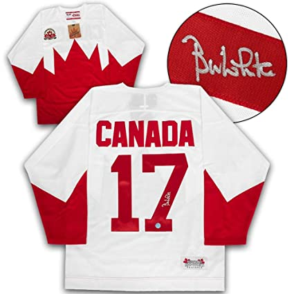 the latest 8448a f4e55 Signed Bill White Jersey - Team Canada 1972 Summit Series ...