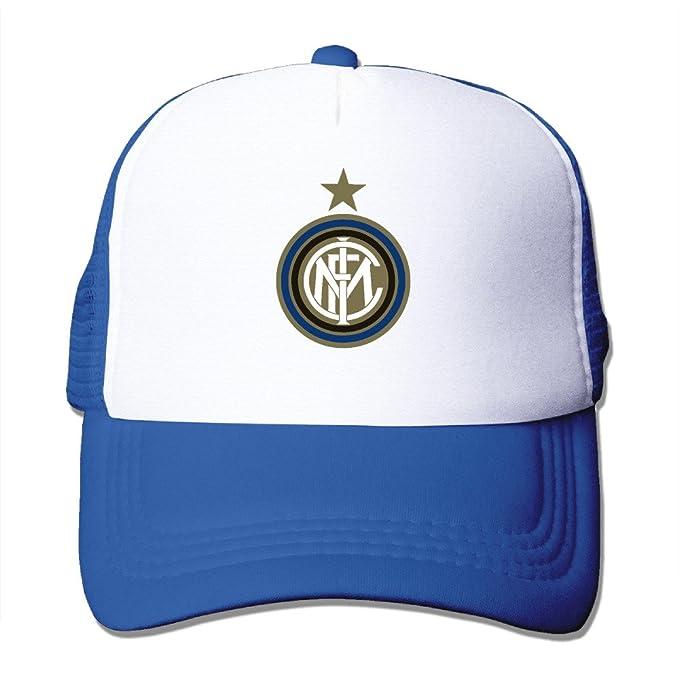 Trucker Inter Milan Soccer Club Adjustable Mesh Back Baseball Cap RoyalBlue 81b8d47b5a0