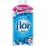 Flor - Suavizante para la ropa concentrado, aroma azul - 53 dosis (3048325)