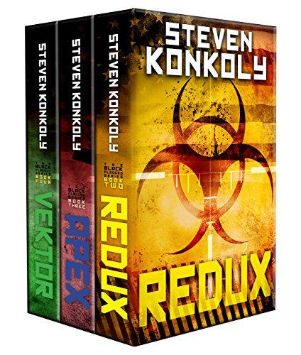 The Black Flagged Thriller Series Boxset: Books 2-4 (The Black Flagged Series Book 0) by [Konkoly, Steven]