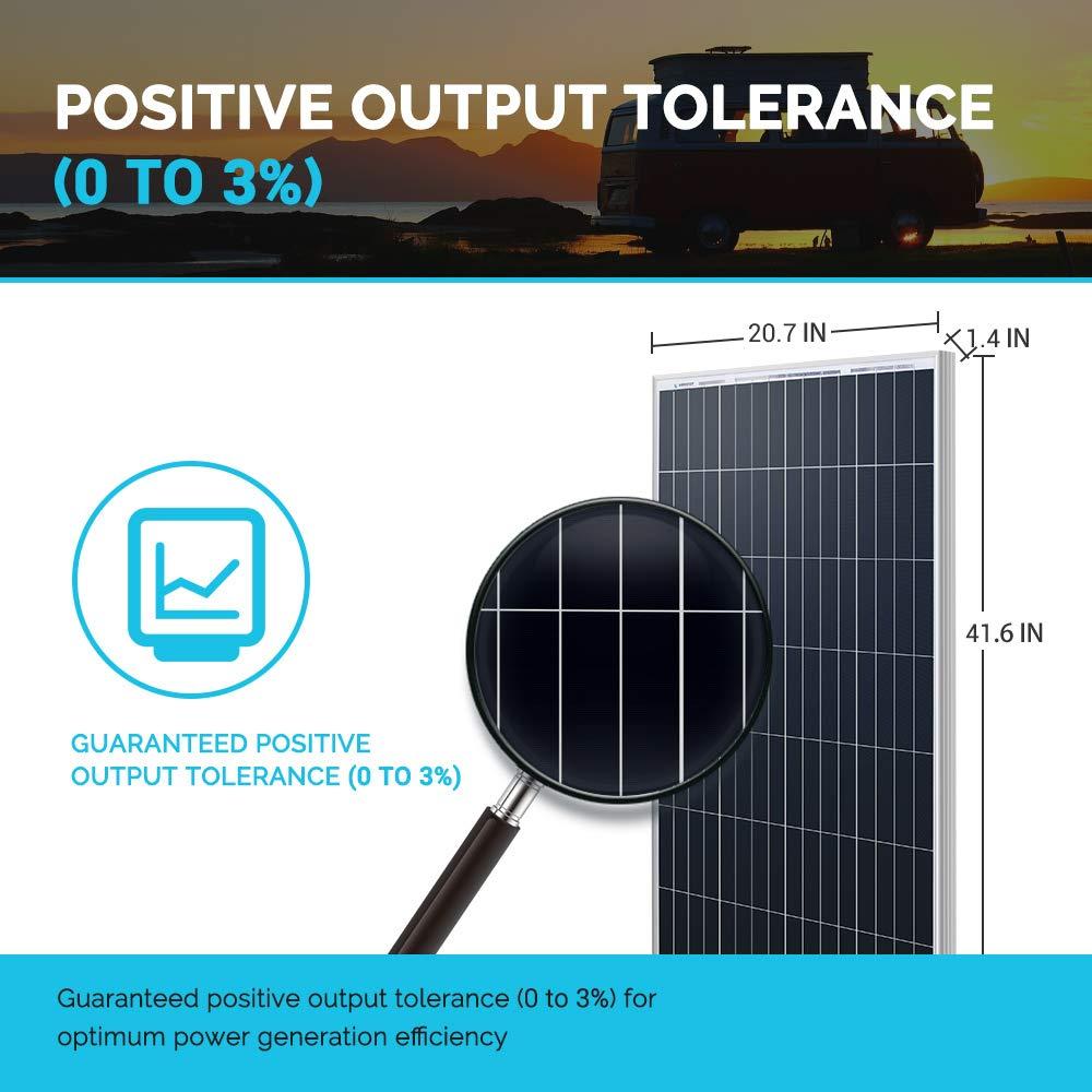 Renogy 100 Watt 12 Volt Monocrystalline Solar Panel (New Edition), Design by Renogy (Image #4)