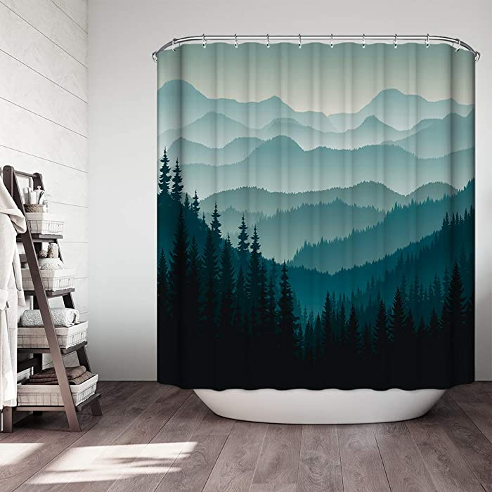 Top 10 Non Toxic Shower Curtain Nature Scenes