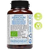 Hericium bio Europeo in capsule veg (Hericium erinaceus o Lion's mane) - 140 capsule da 500mg
