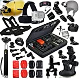 Xtech® RACING ACCESSORIES Kit for GoPro Hero 4 3+ 3 2 1 Hero4 Hero3 Hero2, Hero 4 Silver, Hero 4 Black, Hero 3+ Hero3+ Hero 3 Silver, Hero 3 Black and for Car / Cars, Car Racing, Motorcycles, Motorcycle Racing, Racing, Rallying, Sport Car Racing, Auto Racing, Dirt Bikes, Cycling, Biking, ATV and other Similar Activities Includes: Car Suction Cup Mount + Helmet Harness Mount + Chest Strap Mount + Head Strap Mount + Large GoPro Camera Travel Case + Camera Wrist Mount + Monopod Pole + MORE Review
