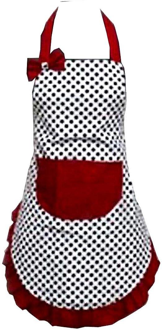 Hyzrz Cute Girls Bowknot Funny Aprons Lady/'S Kitchen Restaurant Women/'S Cake Apr