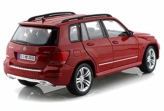 amazoncom mercedes benz glk class suv red maisto premiere 36200 118 scale diecast model toy car toys games - Mercedes Glk Red