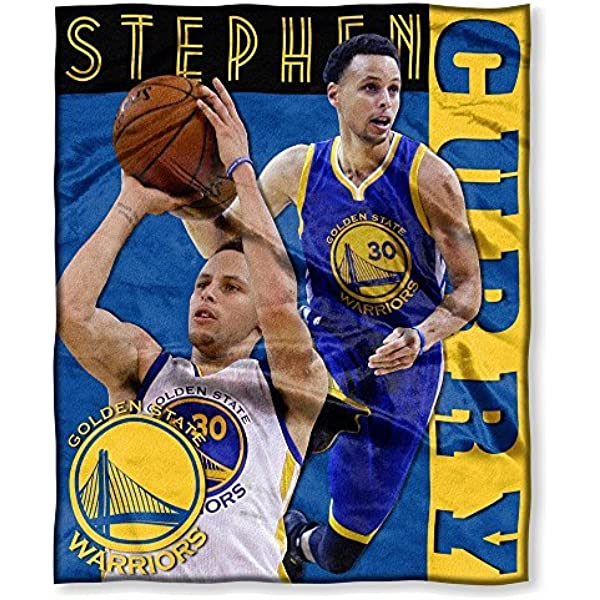 Northwest 575 Nba Golden State Warriors Stephen Curry Player Silk Touch Throw 50 60 Inches Sports Outdoors Amazon Com