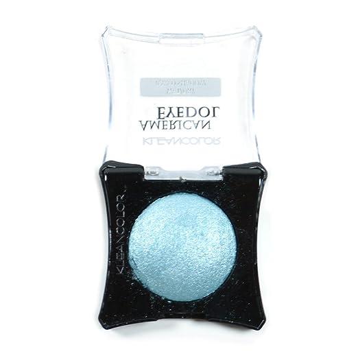 1 Kleancolor American Eyedol SES28-Glitter_Teal Wet Dry Baked Eyeshadow + Free Earring