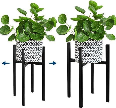 10 Stück Metall Luft Pflanzenständer Behälterhalter Tischplatte PflanzenanzeiWP4