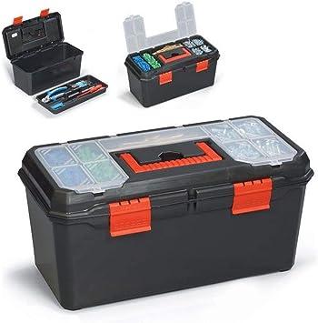 Caja de herramientas de 13 pulgadas con bandeja de asa ...