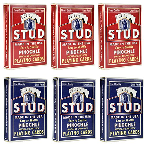 Amazon.Com: Pinochle Playing Cards: Sports & Outdoors